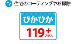 ぴかぴか119+