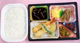 8月 天ぷら弁当